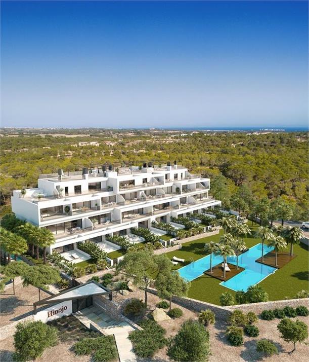 Luxury modern 2 bedroom apartments in award winning Las Colinas Golf Resort