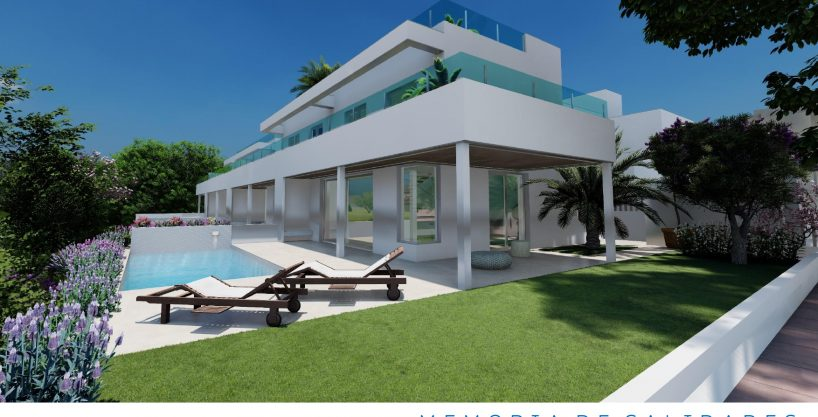 Luxury new semi-detached villas in Alicante Golf, San Juan