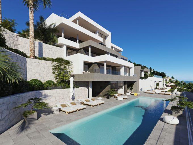 3 bedroom apartments La Sella 5* Golf Resort in Denia