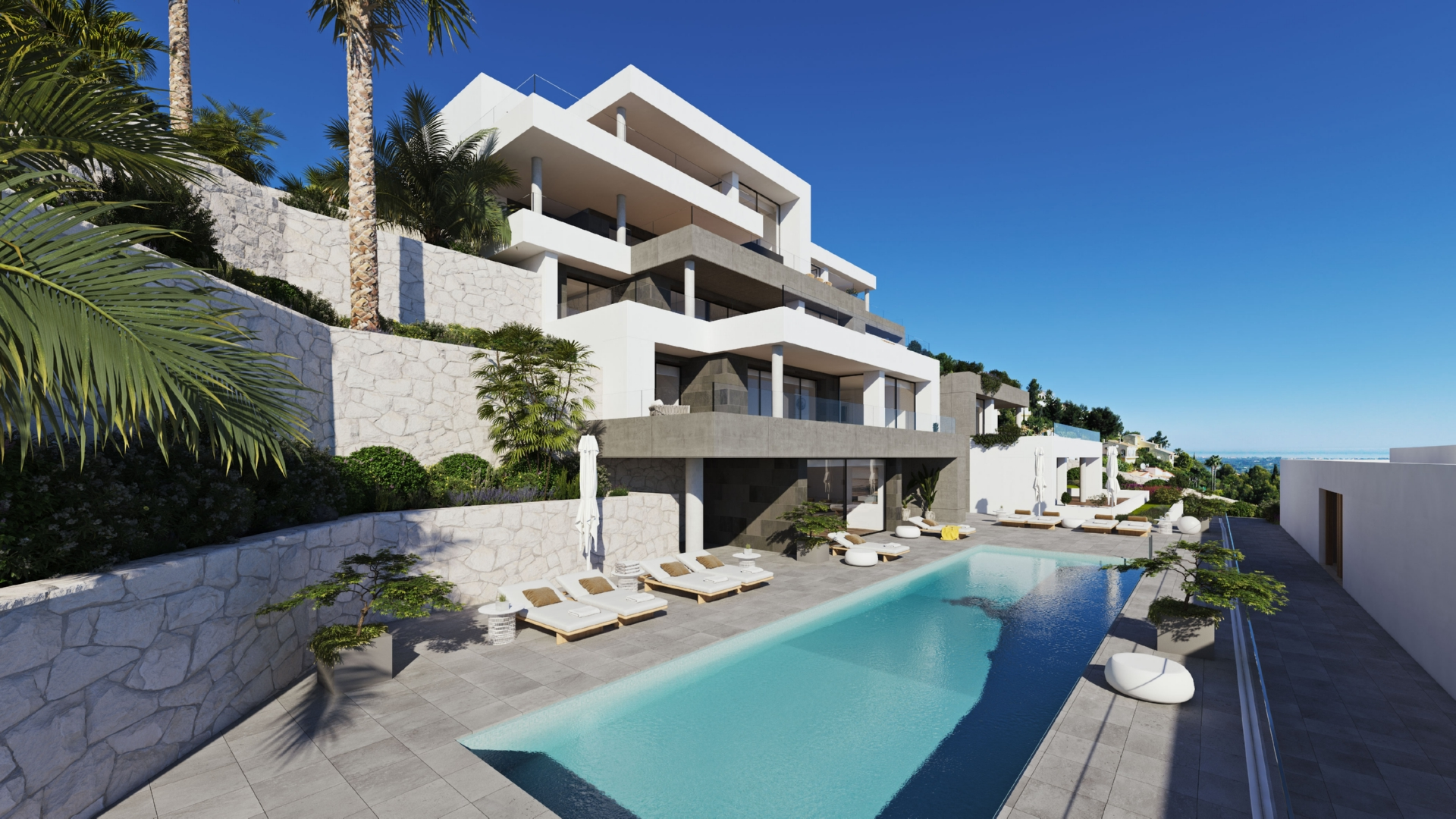 Luxury new 3 bedroom apartments in La Sella 5* Golf Resort in Denia