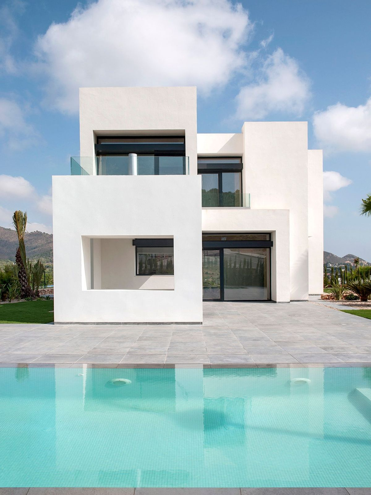 New 4 bedroom villa with private pool in La Manga Resort Club – Murcia (Spain)
