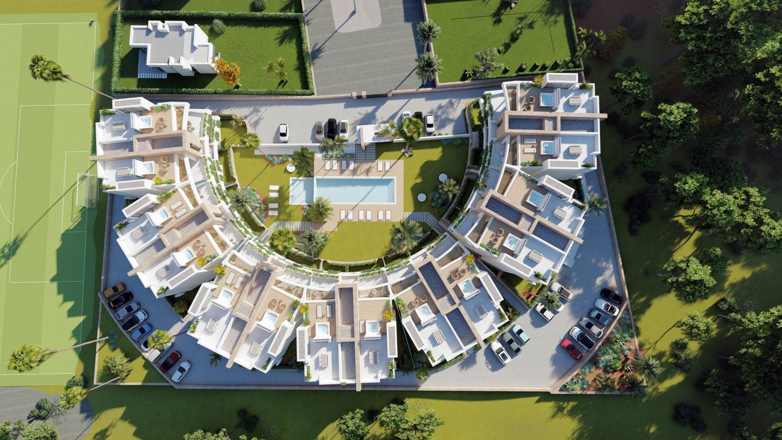New 2 bedroom apartments for sale in La Manga Golf Resort – Murcia