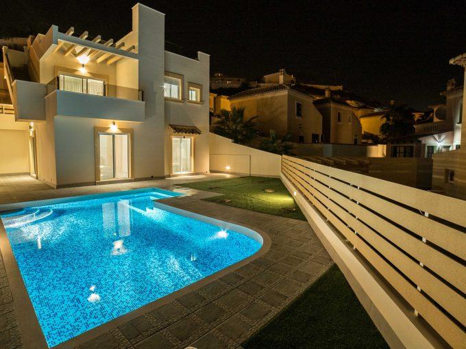 3 bedroom detached villas La Marquesa Golf Resort, Alicante