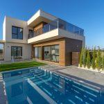 1,2,3 bedrooms golf villas in Roda Golf, Murcia