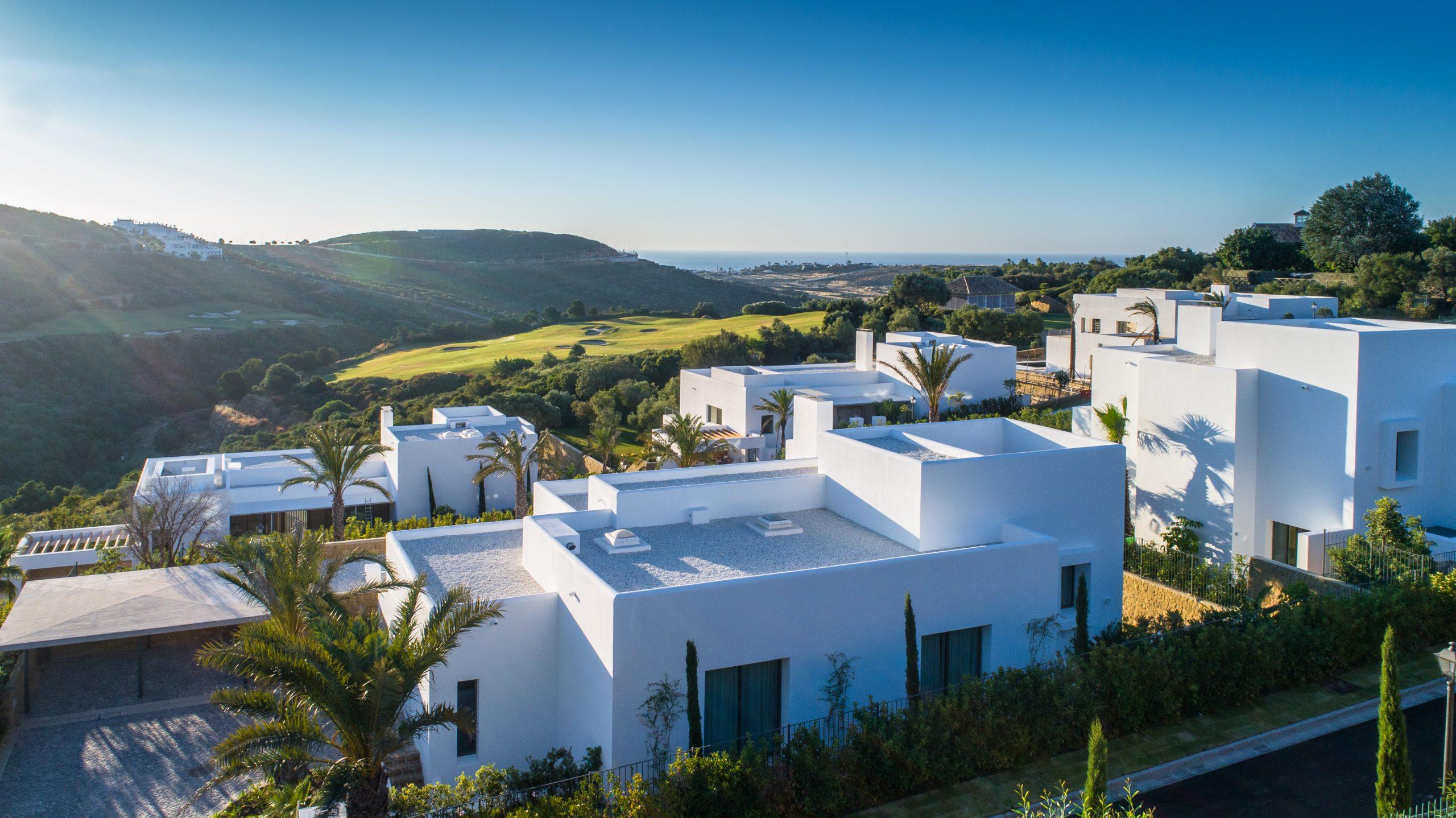 Luxury villas in Finca Cortesin Golf Andalucia
