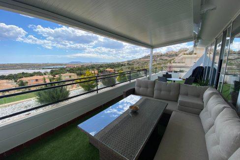 2 bedroom penthouse in Bonalba Golf Resort