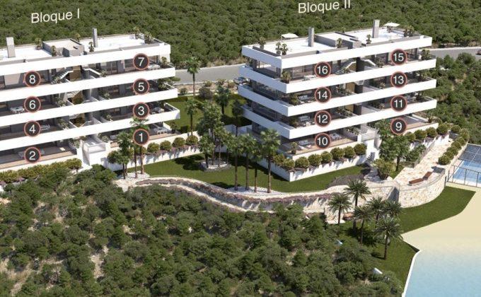 Golf apartments for sale, Las Colinas Golf Resort , Alicante